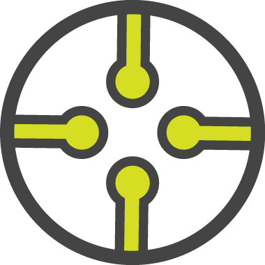 Integrated Communications Network Icon